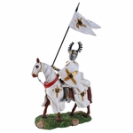 Crusader Knight in White