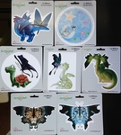 Cute Dragon Sticker Set by LA Williams
