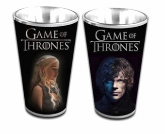 Daenerys & Tyrion Pint Glass Set: Game of Thrones
