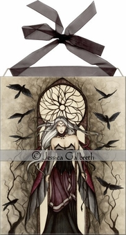 Dark Queen Tile <BR>by Jessica Galbreth
