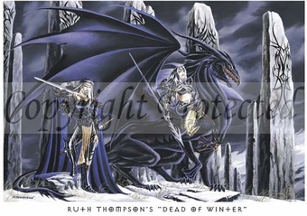 'Dead of Winter'<BR>by Ruth Thompson