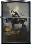 Death Dealer Zippo Lighter by Frank Frazetta
