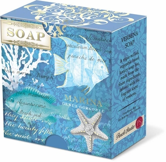 Deep Sea Wonders Verbena Pleat-Wrapped Soap