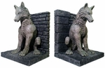 Dire Wolf Bookends: Game of Thrones