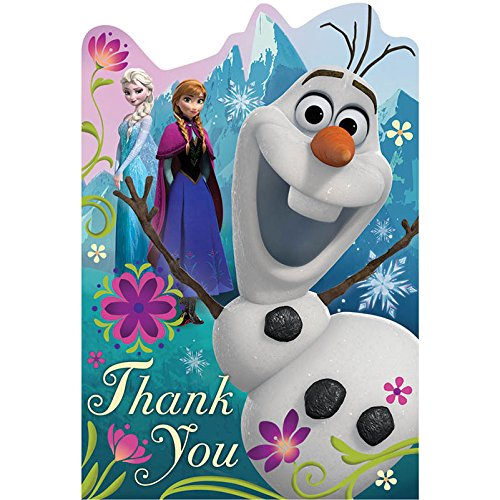 Frozen Thank You Cards Disney S Frozen Gifts Fairyglen Com