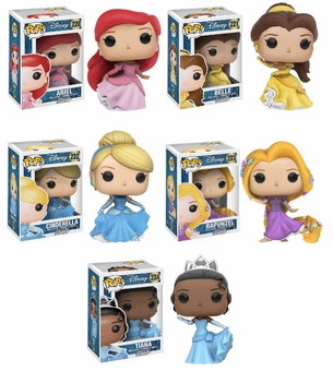 Disney Princess PoP Set