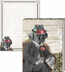 Distinguished Dog Pocket Notepad