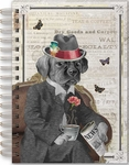 Distinguished Dog Spiral Bound Journal