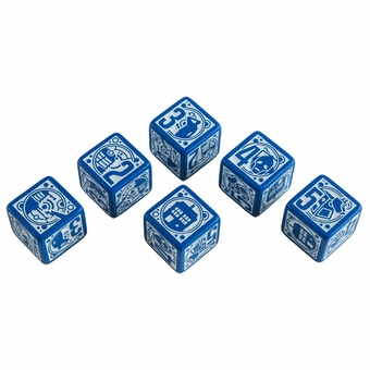 Doctor Who D6 Dice Set