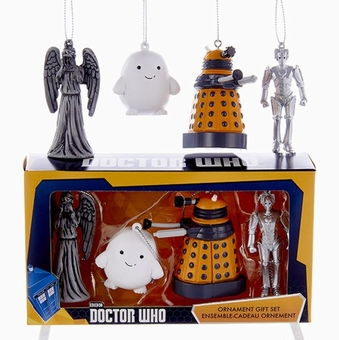 Dr. Who Mini Ornament Set