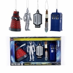 Dr. Who Ornaments Gift Box