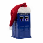 Dr. Who Santa Hat LED Tardis Ornament