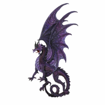 Draconis Moon Wall Plaque