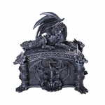 Dragon Casket Lidded Box