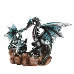 Dragon Family Statue