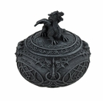 Dragon Globe-Shaped Trinket Box