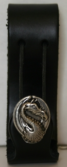 Dragon Leather Mug Holder