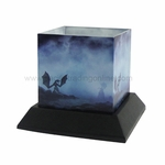 Dragon Myst Candle Silhouettes