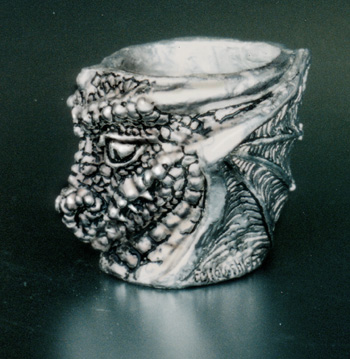 Dragon Pewter Shot Glass By Fellowship Foundry