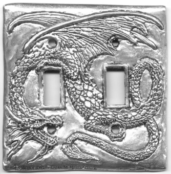 Dragon Switch plate (Double)