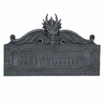 Dragon Welcome Plaque