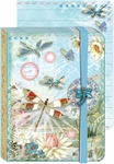 Dragonflies Brooch Pocket Journal