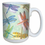 Dragonflies Coffee Mug