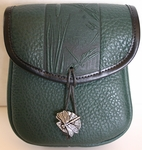 Dragonfly Leather Belt Pouch (Medium)