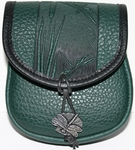 Dragonfly Leather Belt Pouch (Small)