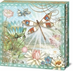 Dragonfly Sky Compact Mirror