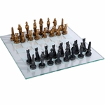 Egyptian Chess Set & Board