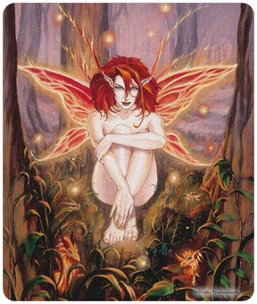 Ember Fairy Mouse Pad