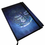 Embossed Celtic Dragonfly Journal
