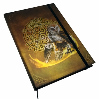 Embossed Celtic Owl Journal