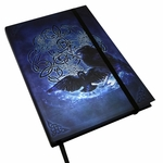 Embossed Celtic Raven Journal