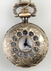 Embossed Pocket Watch Necklace