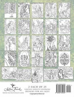 Enchanted Magical Forests Coloring Book
