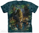 Enchanted Wolf Pool T-Shirt