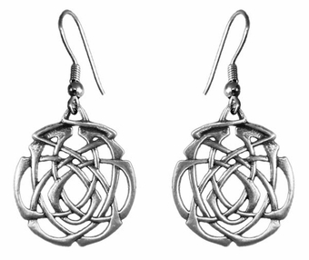 Eternity Knot Earrings
