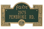 """Fáilte"" Address Plaque"