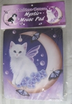 Twilight Moon Pearls Mousepad