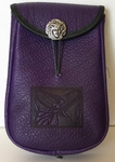 Fairy Leather Belt Pouch (Deep)