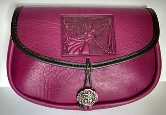 Fairy Leather Belt Pouch (Wide)