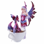 Fairy with Dragon in Cup