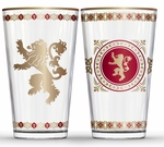 Fancy Lannister Pint Glass Set: Game of Thrones