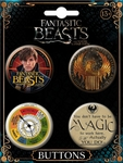 Fantastic Beasts Button Set