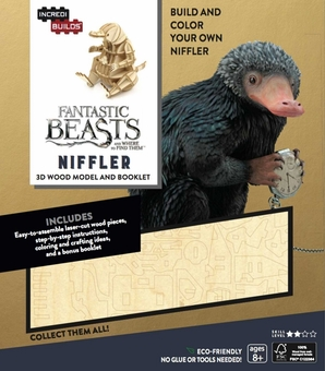 Fantastic Beasts IncrediBuilds 3D Niffler