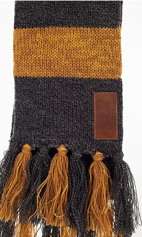 Newt Scamander's Hufflepuff Scarf Fantastic Beasts Where To Find Them Magnificent Hufflepuff Scarf Pattern