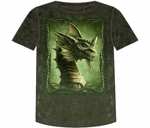 Fantasy Green Dragon T-shirt