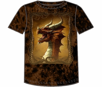 Fantasy Red Dragon T-shirt